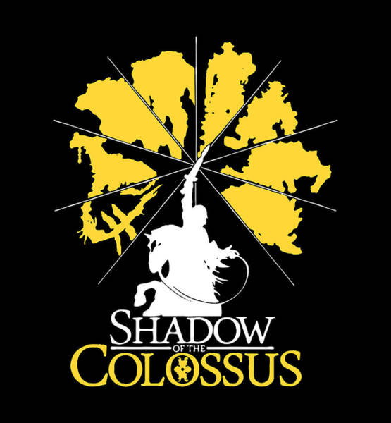 Ico Wall Art - Drawing - Shadow Colossus by Kerry Liny