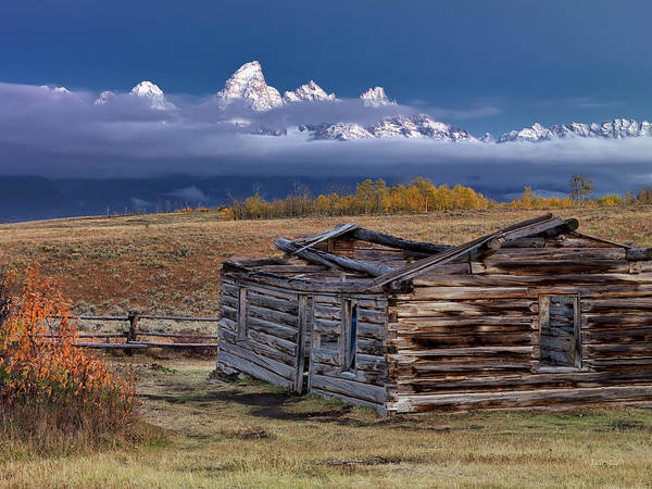 Wall Art - Photograph - Shane Cabin  by Leland D Howard