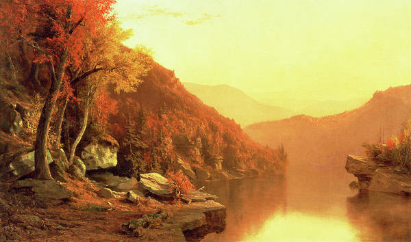 Wall Art - Painting - Shawanagunk Mountains by Jervis McEntee