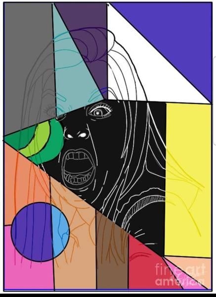Wall Art - Digital Art - She Say by William Bryant