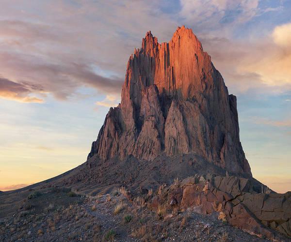 Photograph - Ship Rock, Basalt Core Of Extinct by