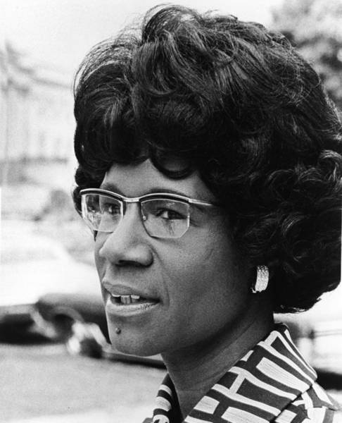 Teaching Photograph - Shirley Chisholm by Hulton Archive