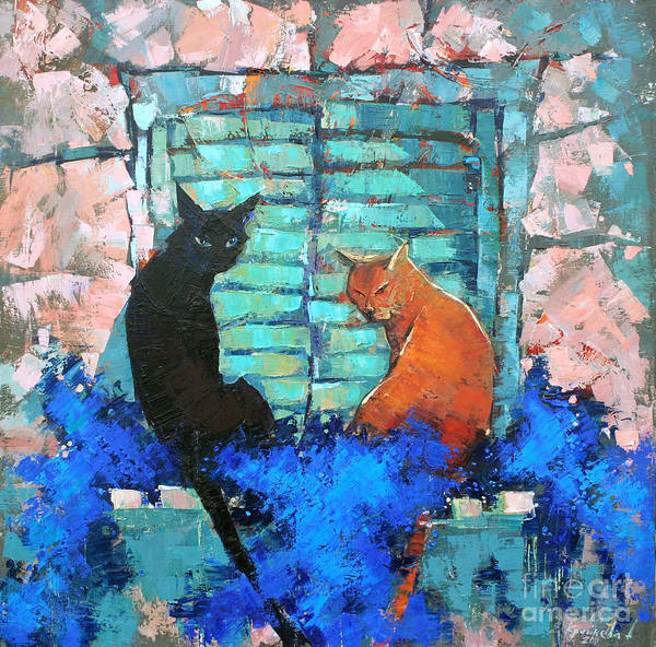 Wall Art - Painting - Siesta by Anastasija Kraineva