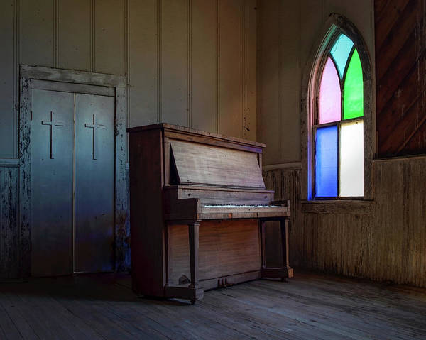 Photograph - Silenced Keys  by Harriet Feagin