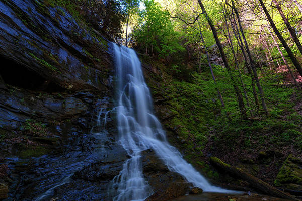 Photograph - Sill Branch Waterfalls In Unicoi County Tennessee by Dee Browning