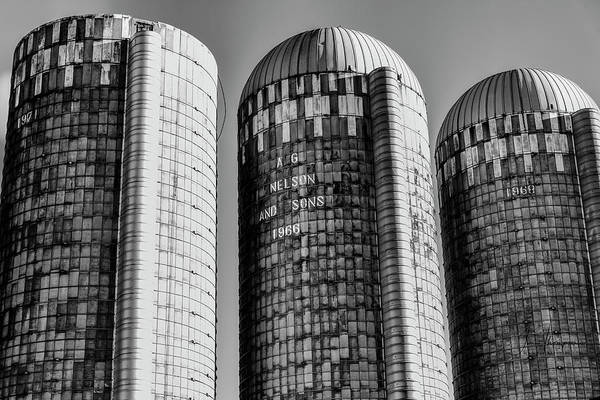 Photograph - Silos by Jim Thompson