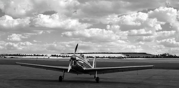 Photograph - Silver Airplane Duxford England by Rick Veldman