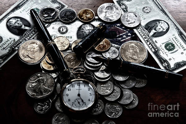 Photograph - Silver Dollar by Dale Powell