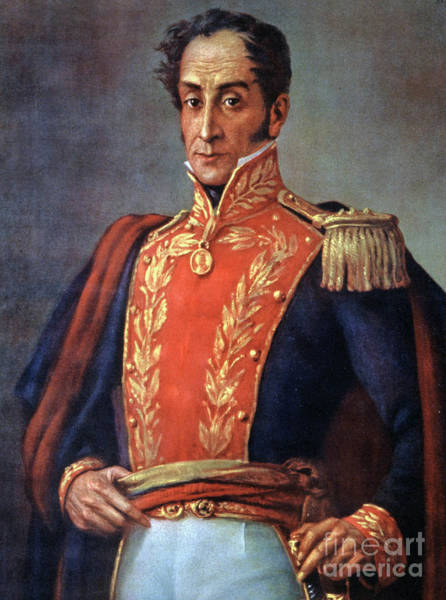 Wall Art - Painting - Simon Bolivar Venezuelan Statesman, Soldier, And Revolutionary Leader by European School