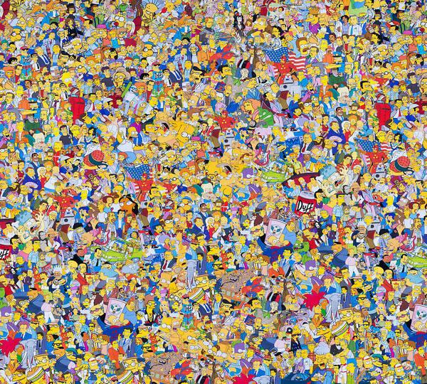Wall Art - Photograph - Simpsons  by Geek N Rock