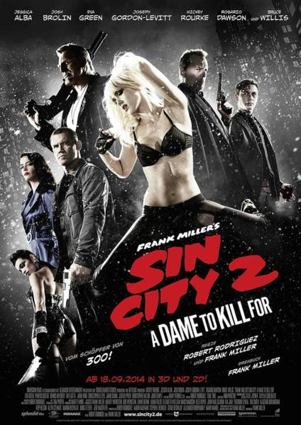 Wall Art - Digital Art - Sin City  by Geek N Rock