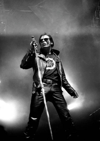 Photograph - Sisters Of Mercy Playing Live Wembley by Martyn Goodacre