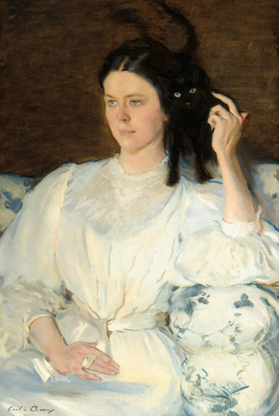 Painting - Sita And Sarita by Cecilia Beaux