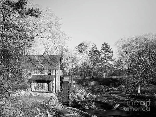 Hillside Wall Art - Digital Art - Sixes Mill by Elijah Knight