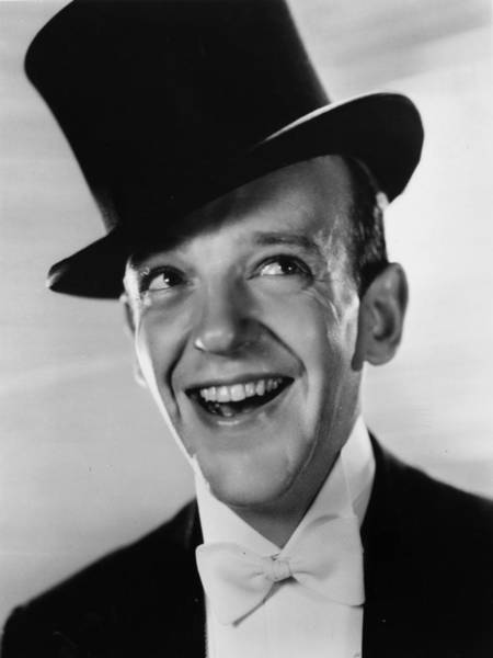 Photograph - Smiling Astaire by Sasha