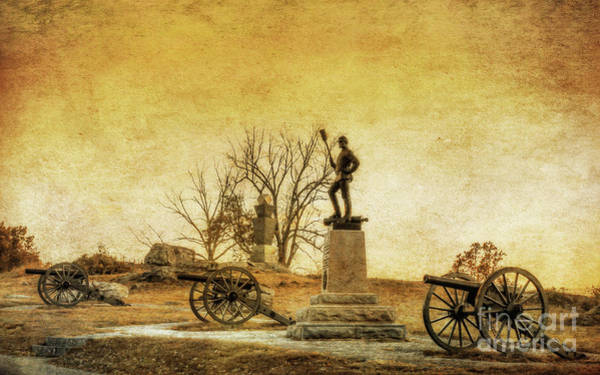 Wall Art - Digital Art - Smith's Battery Devils Den Gettysburg  by Randy Steele