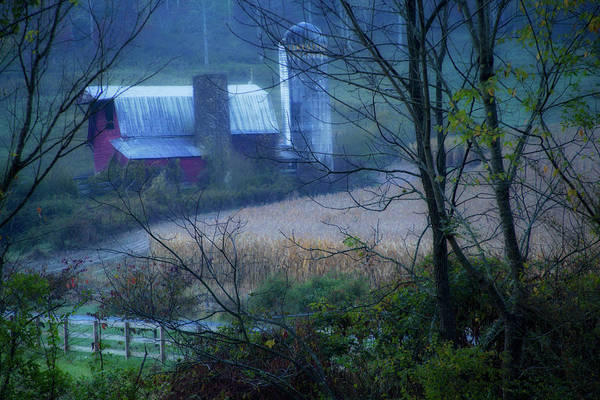 Photograph - Smoky Mountains Barn by David Chasey