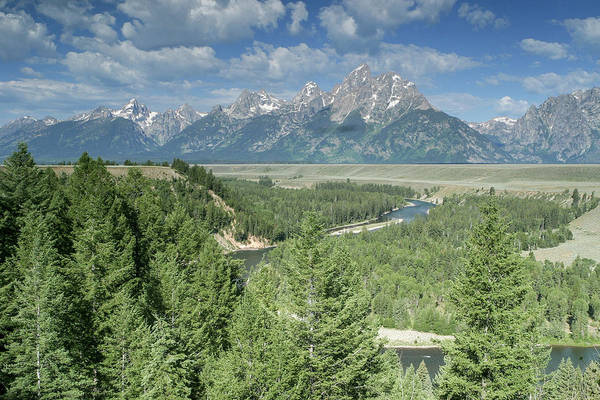 Photograph - Snake River Overlook by Ronnie and Frances Howard