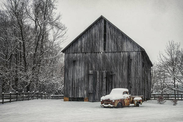 Wall Art - Photograph - Snow Day  by Robert Fawcett
