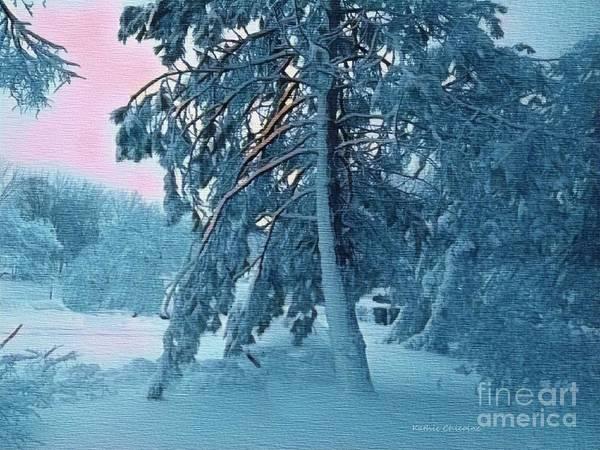 Digital Art - Snowbound by Kathie Chicoine