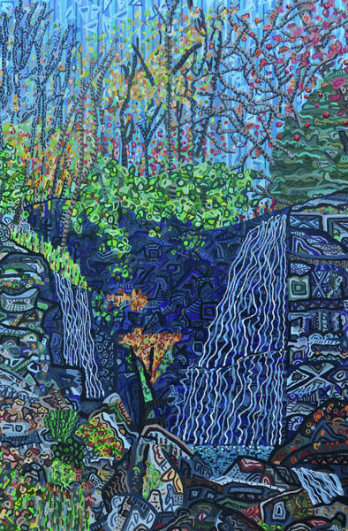 Wall Art - Painting - Soco Falls by Micah Mullen