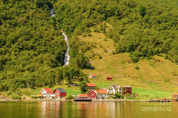 Reflects Photograph - Sognefjord, Norway by Anton ivanov