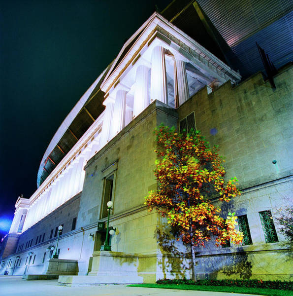 Soldier Field Photograph - Soldier Field by Bob Stefko