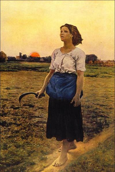 Wall Art - Painting - Song Of The Lark by Jules Breton