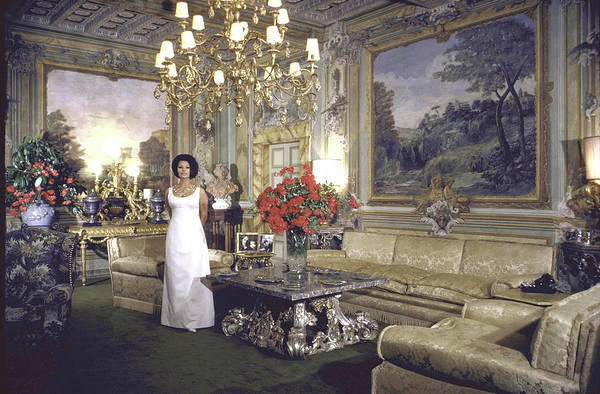 Villa Photograph - Sophia Loren by Alfred Eisenstaedt