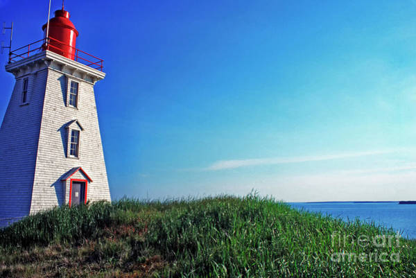 Photograph - Souris Lightstation Prince Edward Island by Thomas R Fletcher