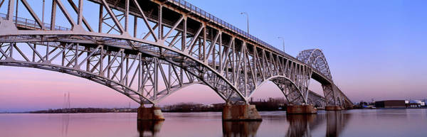 Wall Art - Photograph - South Grand Island Bridges New York Usa by Panoramic Images