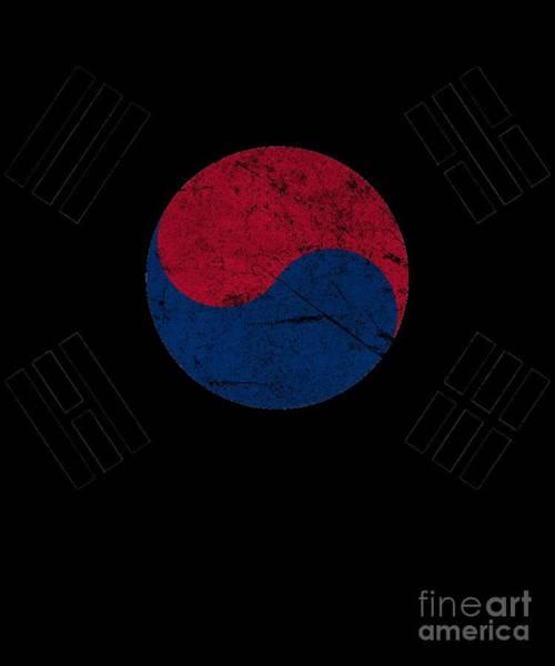 Digital Art - South Korea Vintage by Flippin Sweet Gear