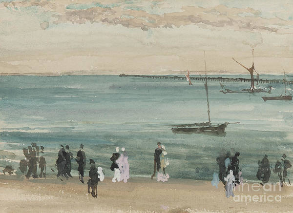 Wall Art - Painting - Southend Pier by James Abbott McNeill Whistler