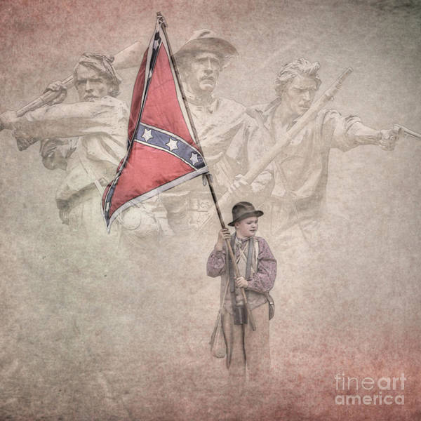 Southern Pride Wall Art - Digital Art - Southern Heritage Southern Pride by Randy Steele