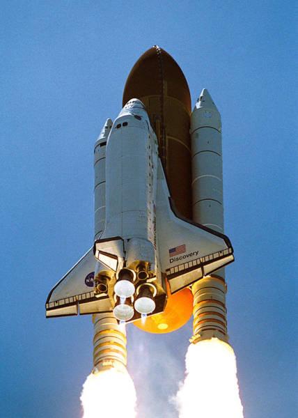 Wall Art - Digital Art - Space Shuttle Lift Off by Filip Hellman