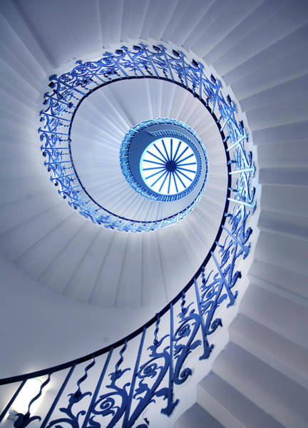Elegance Photograph - Spiral Staircase by Grant Faint