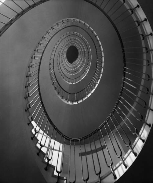 Unusual Perspective Wall Art - Photograph - Spiral Staircase by Harry Shepherd