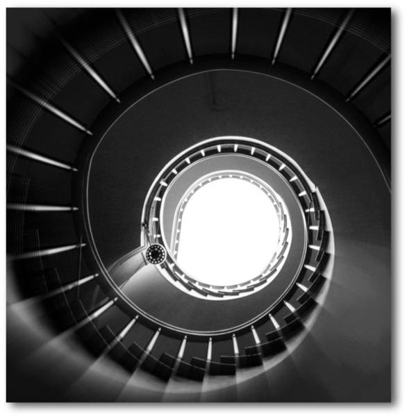 Stairway To Heaven Wall Art - Photograph - Spiral Staircase by J.castro