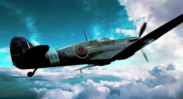 Photograph - Spitfire by Philip Rispin