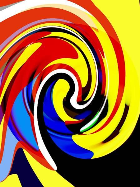 Wall Art - Painting - Splash by Steve K