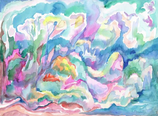 Painting - Spring Abstraction by Irina Dobrotsvet
