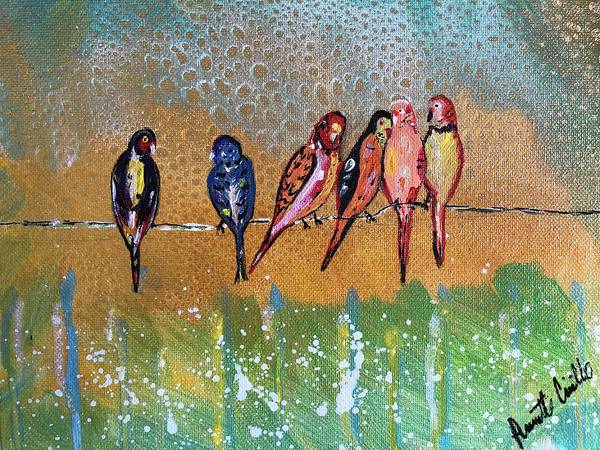 Wall Art - Painting - Spring Fling by Annette Cirillo