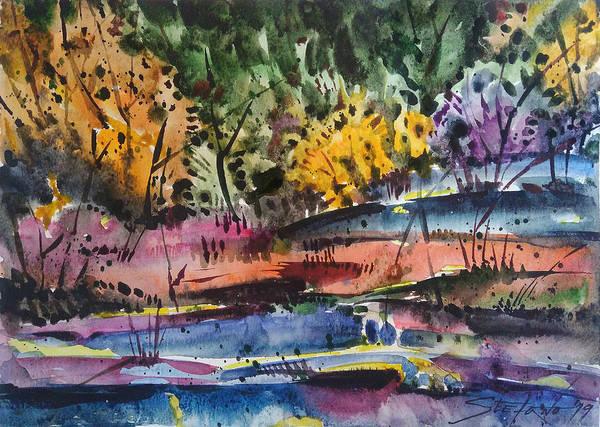 Painting - Spring Impression by Stefano Popovski