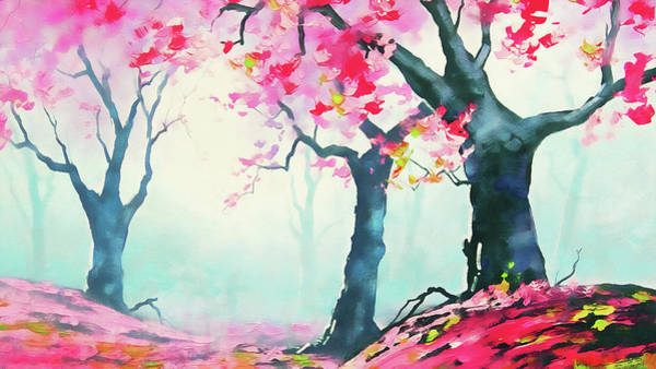 Painting - Spring Memories by Andrea Mazzocchetti