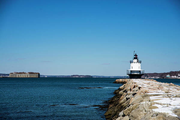 Photograph - Spring Point Ledge Lighthouse II by Alana Ranney