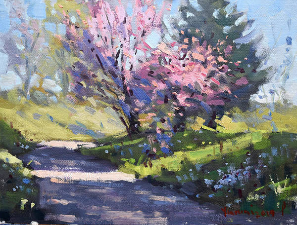 Wall Art - Painting - Spring by Ylli Haruni