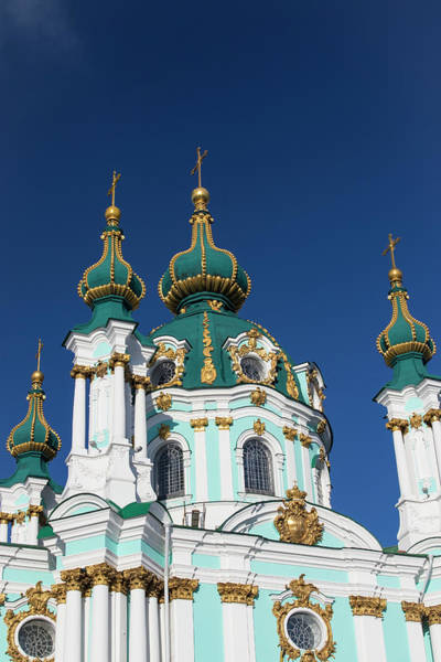 Wall Art - Photograph - St Andrew's Church, Kiev, Ukraine by William Sutton