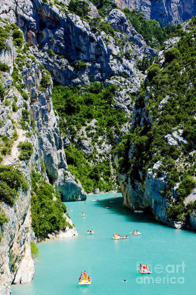 Wall Art - Photograph - St Croix Lake, Les Gorges Du Verdon by Richard Semik