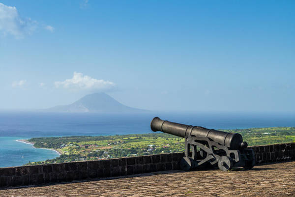 Wall Art - Photograph - St Kitts And Nevis, St Kitts Brimstone by Walter Bibikow