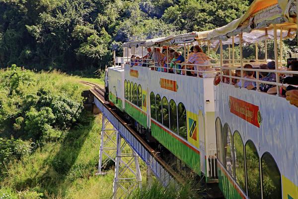 Photograph - St Kitts Railway by Tony Murtagh